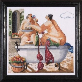 Bathing Beauties - Cross Stitch Kit
