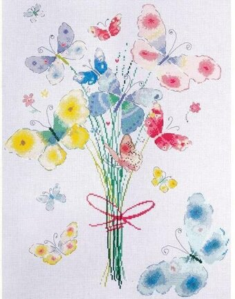 Butterfly Bunch - Cross Stitch Kit