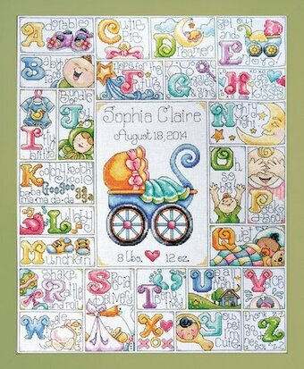 Design Works Baby Abc Cross Stitch Kit 2770 123stitch Com