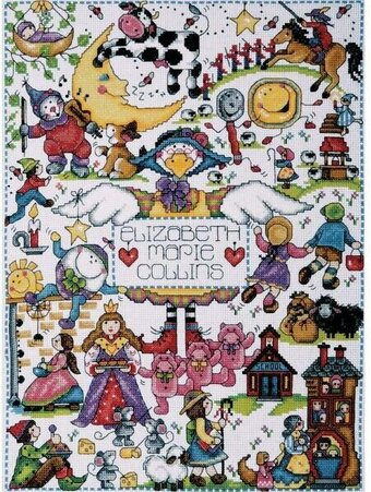 Nursery Rhymes - Cross Stitch Kit