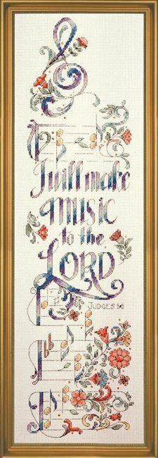 Make Music - Cross Stitch Kit