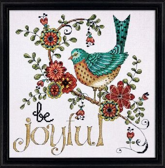 Be Joyful - Counted Cross Stitch Kit