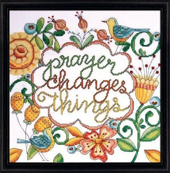 Prayer - Counted Cross Stitch Kit