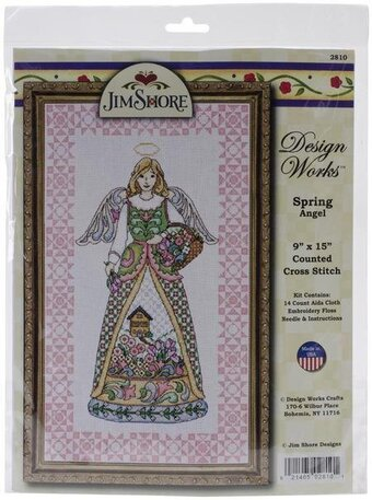 Jim Shore Spring Angel - Cross Stitch Kit