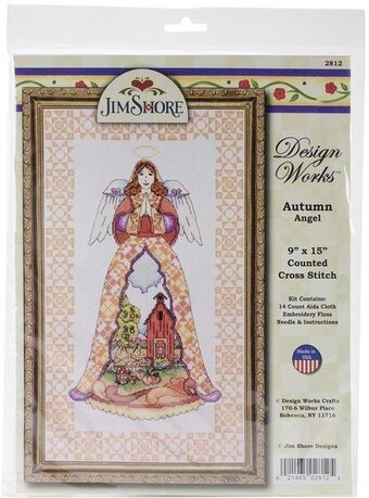 Jim Shore Autumn Angel - Cross Stitch Kit