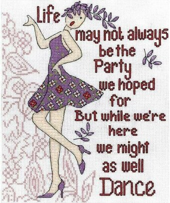 Dance Party - Cross Stitch Kit