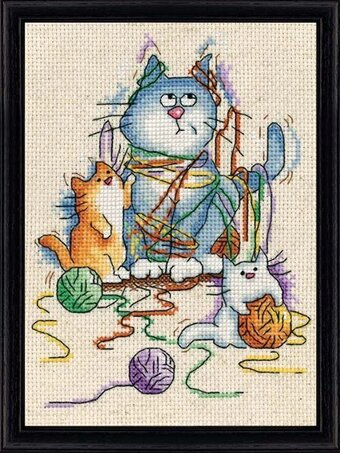 All Strung Out - Cross Stitch Kit