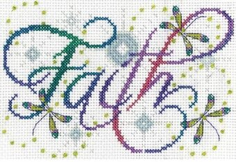 Faith - Cross Stitch Kit
