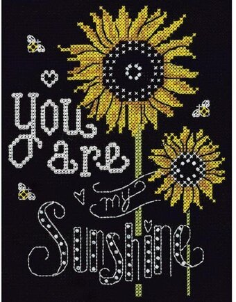 Sunshine Chalkboard - Cross Stitch Kit