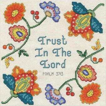 Trust - Cross Stitch Kit