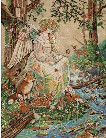 Mother Nature - Cross Stitch Kit