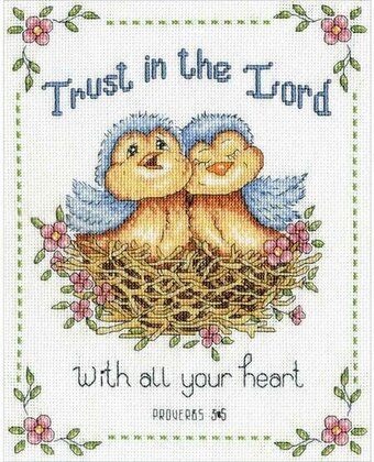 Trust in the Lord - Cross Stitch Kit