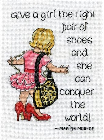 Shoes - Cross Stitch Kit