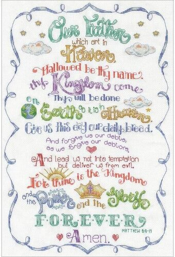 Lord's Prayer - Cross Stitch Kit