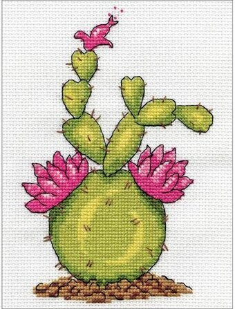 Cactus - Cross Stitch Kit