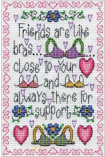 Support - Cross Stitch Kit