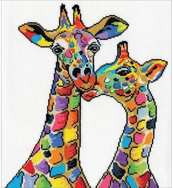 Giraffes - Cross Stitch Kit