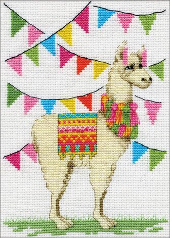 Llama - Counted Cross Stitch Kit