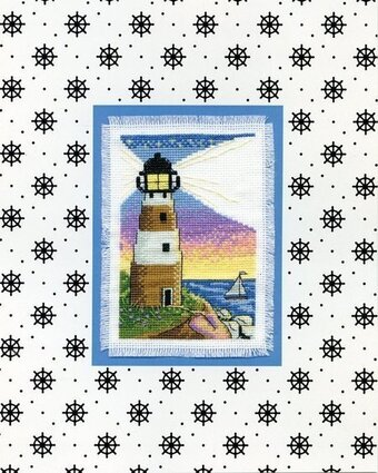 Lighthouse Stitch and Mat - Cross Stitch Kit