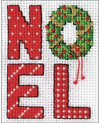 Noel - Christmas Cross Stitch Kit