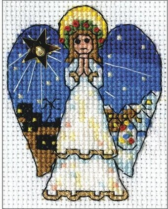 Angel - Christmas Cross Stitch Kit