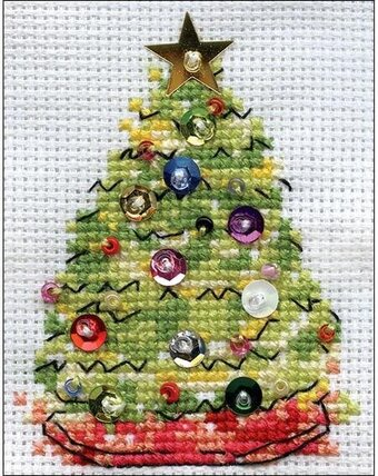 Christmas Tree - Christmas Cross Stitch Kit