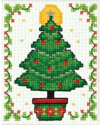 Christmas Tree - Plastic Canvas Kit