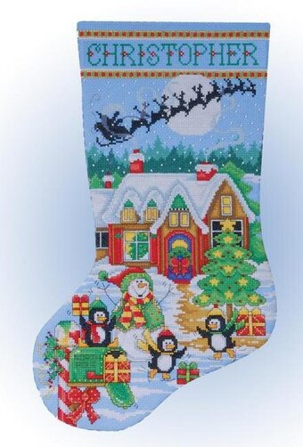 Christmas Stocking Cross Stitch Kits Sale