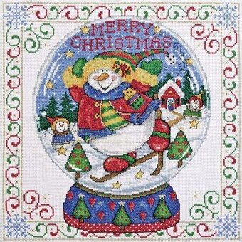 Snowglobe - Cross Stitch Kit