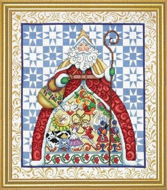Jim Shore Twelve Days Of Christmas - Cross Stitch Kit