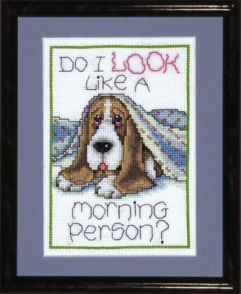 Morning Dog - Cross Stitch Kit