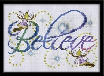 Believe - Cross Stitch Kit