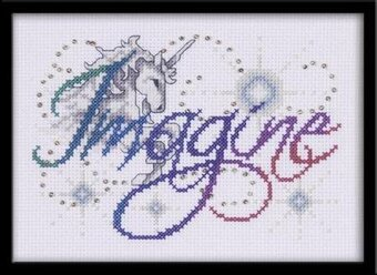 Imagine - Cross Stitch Kit