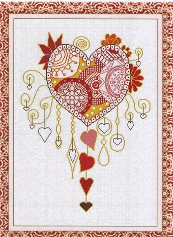 Cuori in Festa - Cross Stitch Pattern