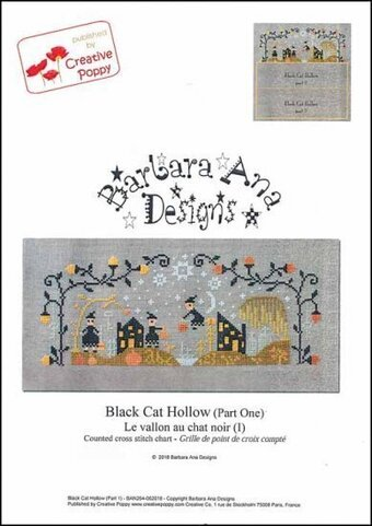 Black Cat Hollow Part One - Cross Stitch Pattern