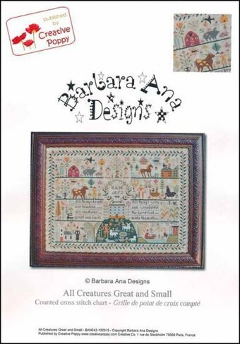All Creatures Great and Small - Cross Stitch Pattern