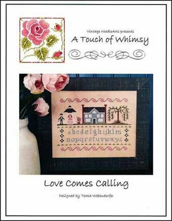 Love Comes Calling - Cross Stitch Pattern