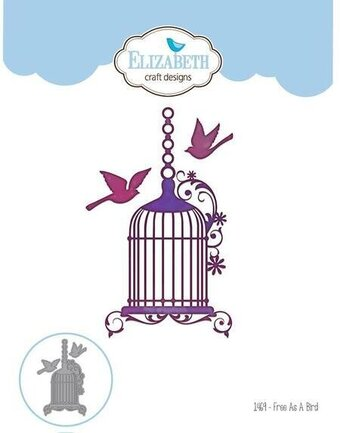 Elizabeth Craft Free As A Bird Die