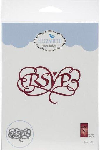 RSVP - Elizabeth Craft Designs Die