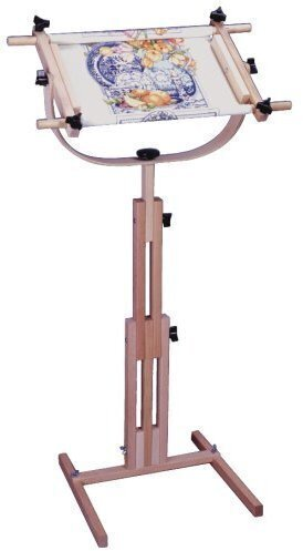 F A Edmunds Stitcher S Wonder Floor Stand Scroll Frame