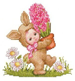 Bunny Baby  - Cross Stitch Pattern