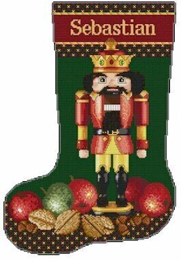 Nutcrack Stocking - Cross Stitch Pattern