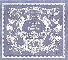 Ellen Maurer Stroh White Wedding Cross Stitch Pattern