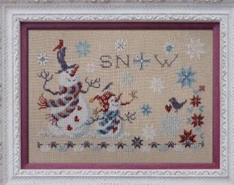 Nice Snowflakes - Cross Stitch Pattern