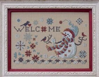 Welcome Winter - Cross Stitch Pattern