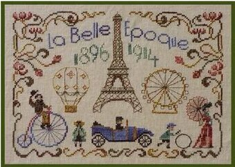 La Belle Epoque - Cross Stitch Pattern
