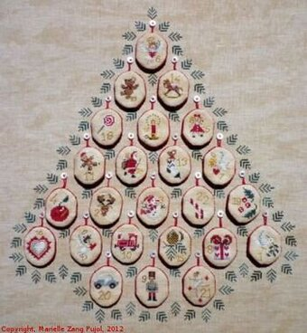 Advent - Three Ways To Do It - Cross Stitch Pattern
