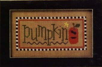 Halloween Double Flip - Pumpkin/Fright Cross Stitch Pattern