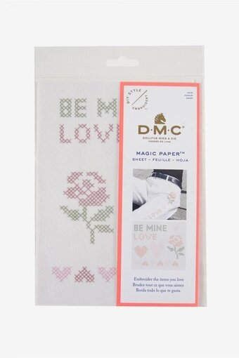 Love Magic Paper - DMC Cross Stitch Pattern