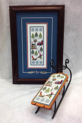 RFD Sledding - Cross Stitch Pattern